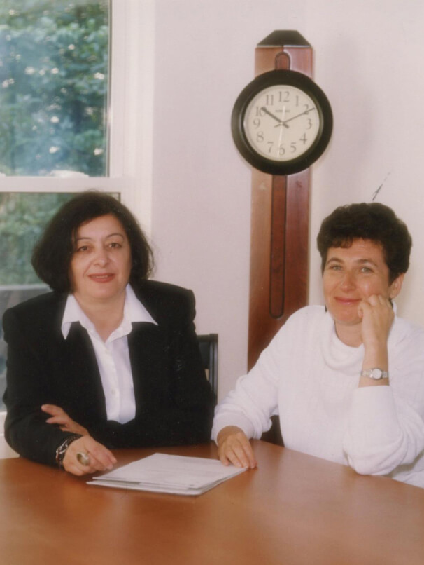 Inessa Rifkin and Irina Khavinson, founders of Russian School of Math
