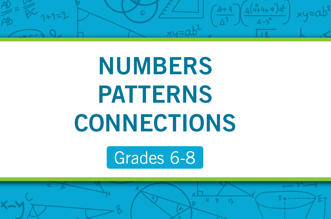 Numbers patterns connections seminars