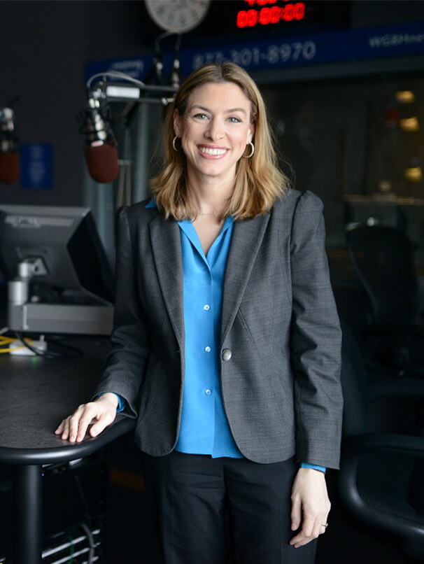 "Woman from NPR's ""Innovation Hub"" program that features RSM"