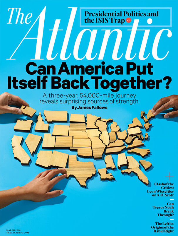 "Cover of ""The Atlantic"" magazine"