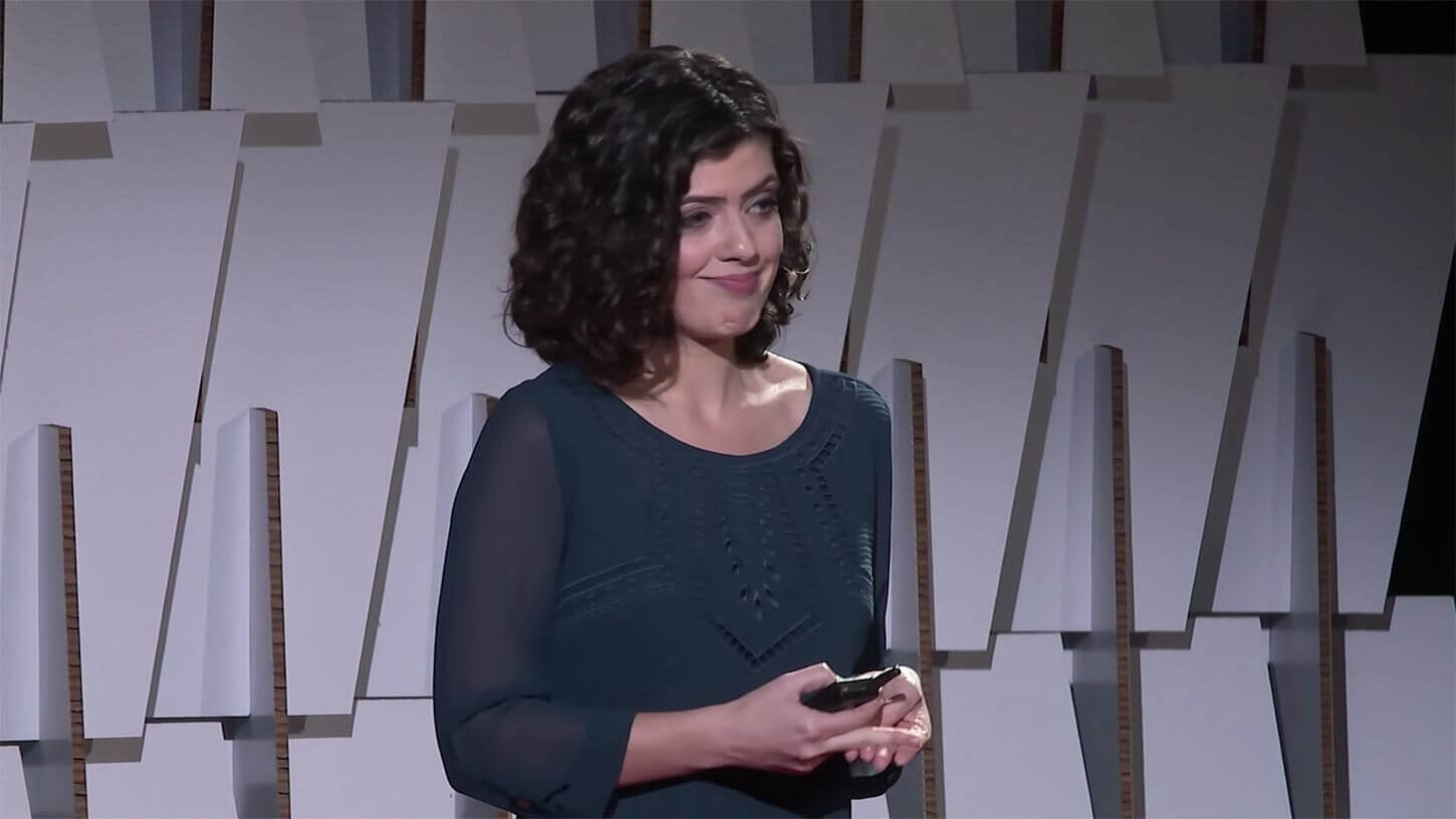 Masha German's TED Talk titled Uncertain Times Call for Certain Math